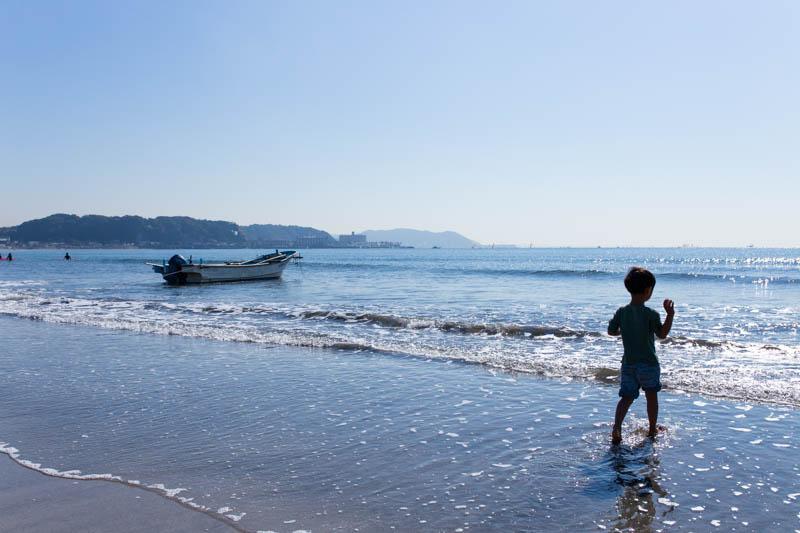チビオトも11月の海へ。